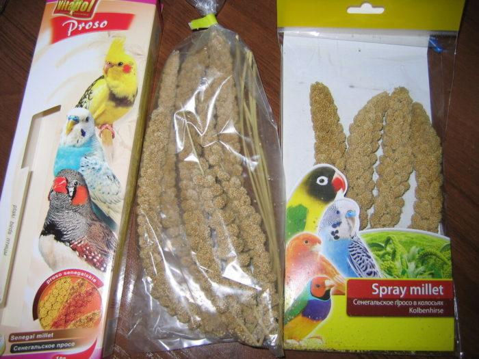 Как выглядит сенегальское просо в магазине