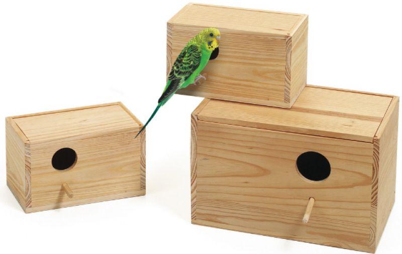 гнездо горизонтальное для волнистых попугаев