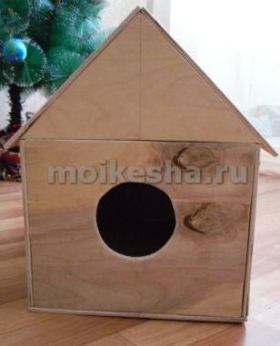 домик для кореллы своими руками