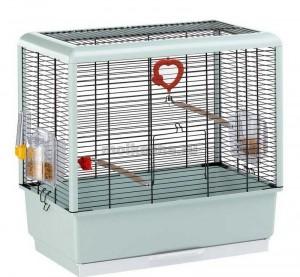 обустройство клетки для волнистого попугая